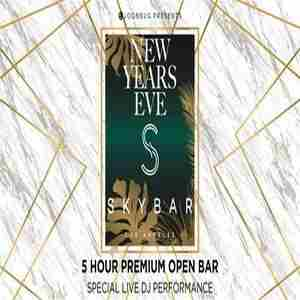 Skybar at Mondrian Hotel New Years Eve 2020 Party in Los Angeles on 31 Dec
