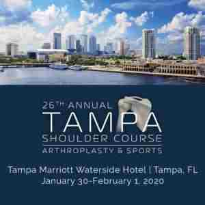 26th Annual Tampa Shoulder Course: Arthroplasty and Sports in Tampa on 30 Jan