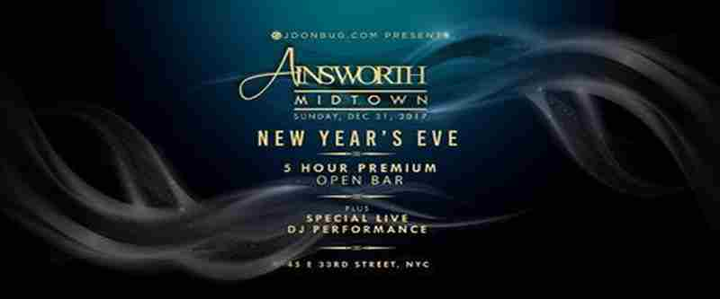 Ainsworth Midtown New Years Eve 2020 Party in New York on 31 Dec