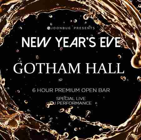 Gotham Hall New Years Eve 2020 Party in New York on 31 Dec