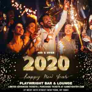 Playwright Irish Pub 40s and Over New Years Eve Party 2020 in New York on 31 Dec