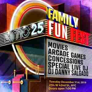 AMC Times Square NYE Family Fun Fest in New York on 31 Dec