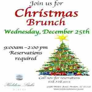 Christmas Brunch in Aviston on 25 Dec