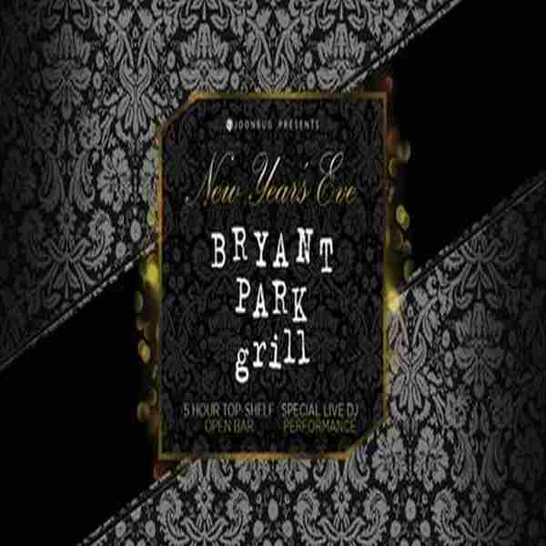 Bryant Park Grill in New York on 31 Dec