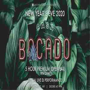 Casa Bocado NEW YEAR'S EVE 2020 in New York on 31 Dec