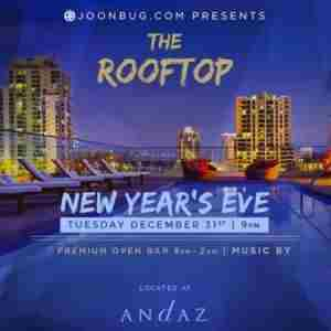 Andaz Hotel Rooftop New Years Eve Party 2020 in San Diego on 31 Dec