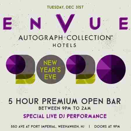 Envue Autograph Collection New Years Eve 2020 Party in Weehawken on 31 Dec