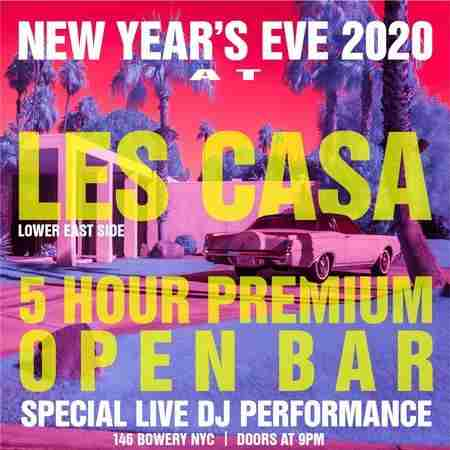 LES Casa in New York on 31 Dec
