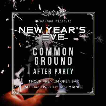 Common Ground NYE After Party in New York on 1 Jan