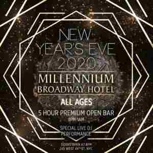 Millennium Broadway All Ages Party in New York on 31 Dec