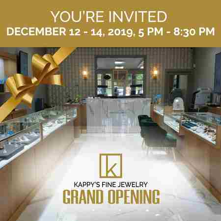 Kappy's Jewelry Grand Opening Event in West Palm Beach FL on 12 Dec