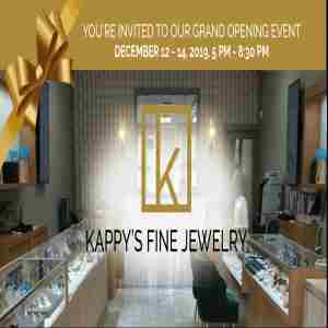 Kappy's Jewelry Grand Opening Event in West Palm Beach FL on 13 Dec