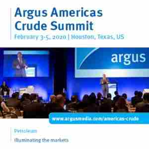 Argus Americas Crude Summit in Houston on 3 Feb