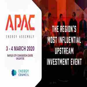 Asia Pacific Energy Assembly | 3 - 4 March 2020, Singapore in Singapore on 3 Mar