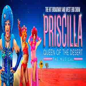 Priscilla Queen of the Desert in Southend-on-Sea on 24 Feb