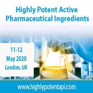 Highly Potent Active Pharmaceutical Ingredients in London on 11 May