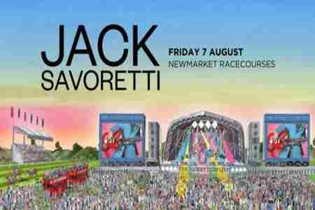 Jack Savoretti live at Newmarket Racecourses on Friday 7th August 2020 in Newmarket on 7 Aug