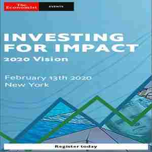 Investing for Impact 2020 in New York on 13 Feb