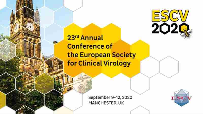 23rd Annual Conference of the European Society for Clinical Virology in Greater Manchester on 9 Sep