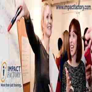 Personal Impact Course - 29th September 2020 - Impact Factory London in London on 29 Sep