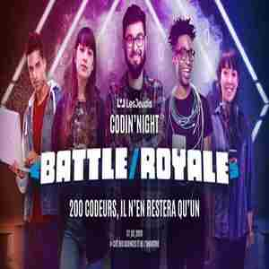 Codin 'Night Battle / Royale in Paris on 27 Feb