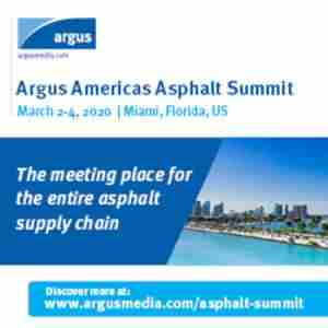 Argus Americas Asphalt Summit in Miami on 2 Mar