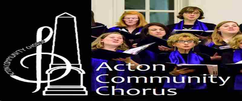 Celebrating Womens' Right to Vote - Acton Community Chorus Concert in Acton on 11 Jan