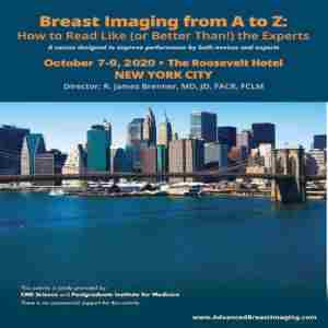 Breast Imaging from A to Z: How to Read Like (or Better Than!) the Experts in New York on 7 Oct