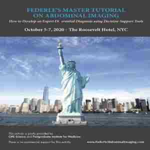 Federle's Master Tutorial on Abdominal Imaging in New York on 5 Oct