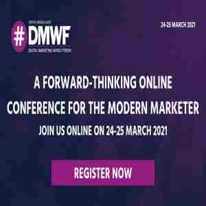 Digital Marketing World Forum - North America 2020 in Brooklyn on 16 Sep