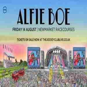 Alfie Boe live at Newmarket Racecourses in Newmarket on 14 Aug