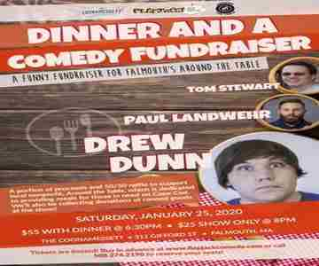 Dinner and a Comedy Fundraiser in Falmouth on 25 Jan
