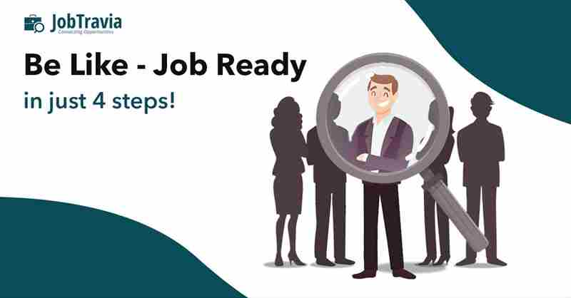 Be Like - Job Ready in just 4 steps in Nagpur on 4 Jan