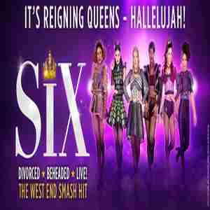SIX the Musical in Southend-on-Sea on 7 Apr