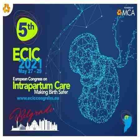 ECIC 2021: 5th European Congress on Intrapartum Care in Belgrade on 27 May