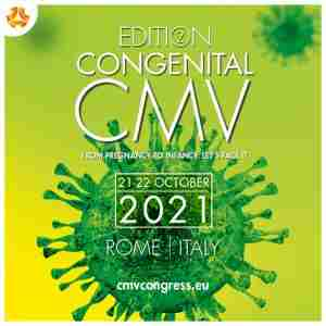 CMV 2021: 2nd Congress on Congenital CMV in Rome on 21 Oct