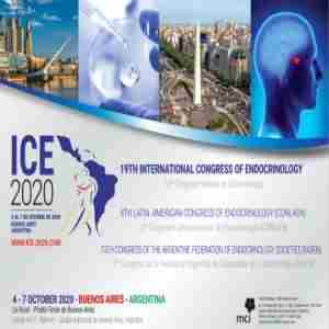 ICE 2020 | 19th International Congress of Endocrinology | 4-7 October 2020 in Palermo on 4 Oct
