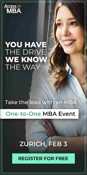 Exclusive MBA Event in Zurich in Zurich on 3 Feb