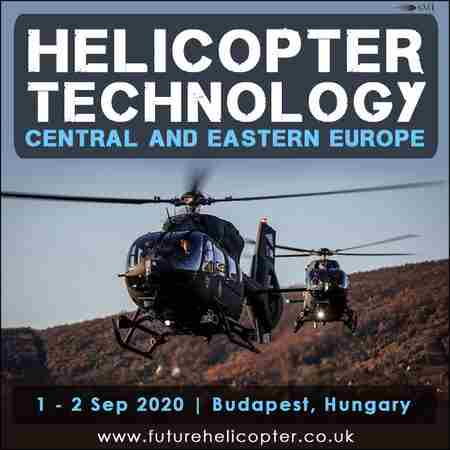 Helicopter Technology Central and Eastern Europe 2020 in Budapest on 1 Sep