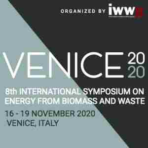 Venice 2020 - 8th International Symposium on Energy from Biomass and Waste in Venezia on 16 Nov