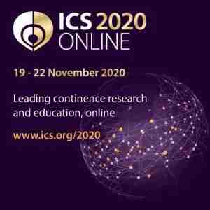 ICS 2020: 50th Annual Meeting of the International Continence Society in Las Vegas on 26 Aug
