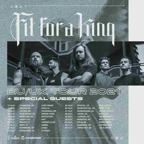 Fit For A King at 229 Venue - London in Greater London on 22 May
