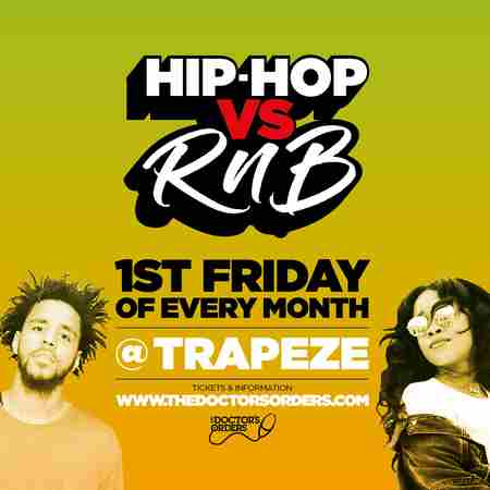 Hip-Hop vs RnB @ Trapeze Basement - Fri 7th August in London on 7 Aug