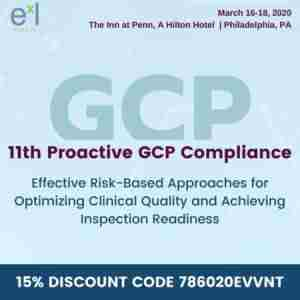 11th Proactive GCP Compliance in Philadelphia on 16 Mar