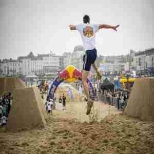 Red Bull Quicksand: Margate. 30th May, 2020 in Kent on 30 May