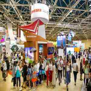 OTDYKH International Russian Travel Market in Moscow on 8 Sep