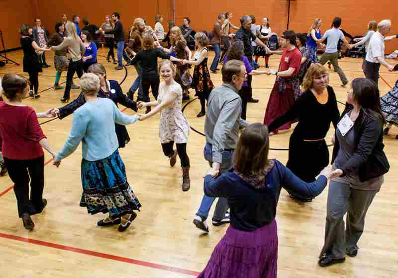 Contra Dance - No experience needed in Spokane on 24 Apr