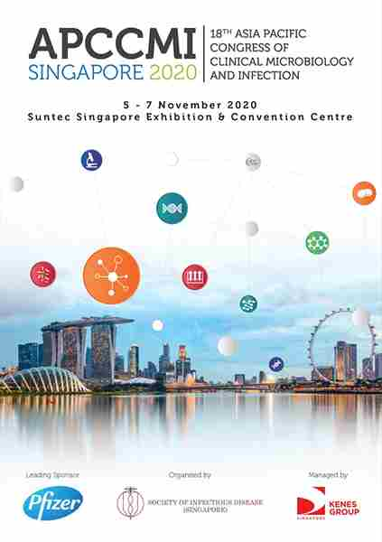 18th Asia Pacific Congress of Clinical Microbiology and Infection in Singapore on 5 Nov