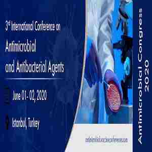 3rd International Conference on Antimicrobial and Antibacterial Agents in Istanbul on 1 Jun