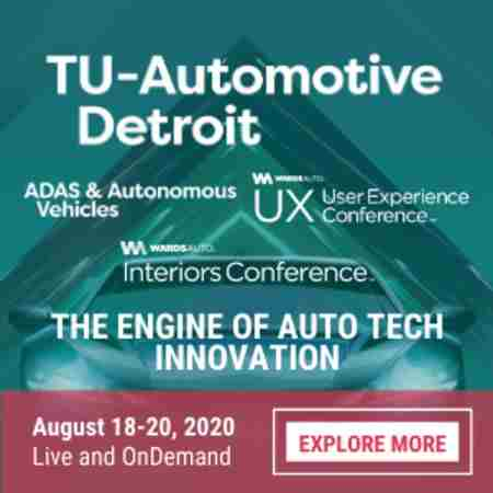 TU-Automotive Detroit - 100% Virtual in Detroit on 18 Aug